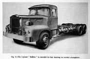A 1950s LEYLAND Buffalo Diesel 6X4 Truck