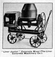 A 1930s LINER Cement Mixer