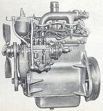 International BD-144 engine 1960.jpg