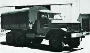 1984 BRAVIA Pantera Diesel Armytuck 6X6