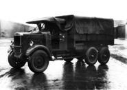 A 1930s LEYLAND Terrier Armytruck