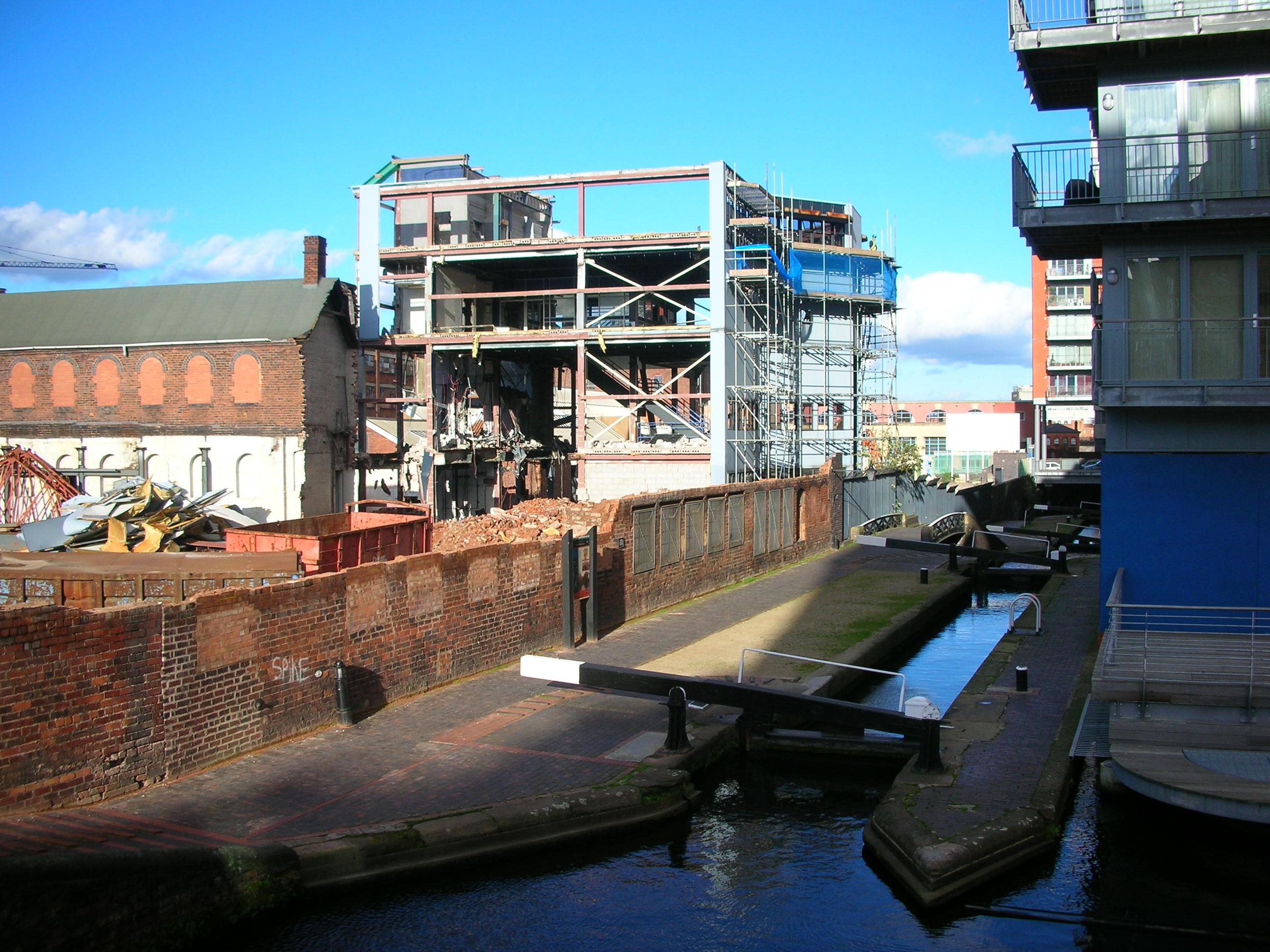 Birmingham Science Museum demolition.jpg