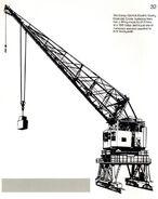A 1970s Smith Of Rodley Gantry Crane Diesel