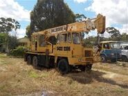 1970s COLES Cranetruck Diesel Hysdraulic Made In Australia