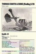 A 1960s Smith Of Rodley 21 Excavator Diesel