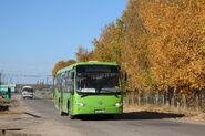 Public bus in Tomsk Oblast