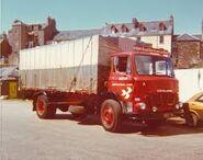 A 1970s LEYLAND Laird Boxvan Diesel