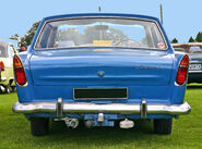 Ford Zephyr 211E tail