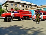 Russian fire engines in 2007