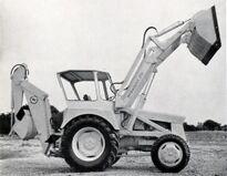 A 1963 Bray Hydraloader 23D Digger-Loader