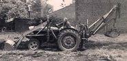A 1950s Whitlock Fordson Loader Diesel