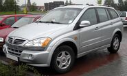 SsangYong Kyron front 20090423