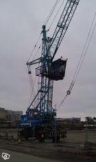 A 1990s Jones 971HLB Dock Harbour crane