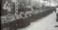 The BRAVIA VM Armyvehicles Factory in the 1970s