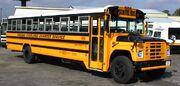 1988 Navistar International school bus with a Wayne Lifeguard 71 passenger body owned by school bus contractor and former Wayne dealer Virginia Overland Transportation in Richmond, Virginia in 1999