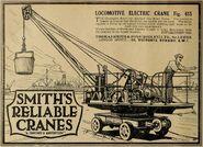 A 1920s Smith Of Rodley Steam Crane 10T