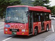 Hagi City community bus01