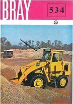 A 1970s BRAY 534 Diesel Loader