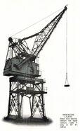 A 1970s Smith Of Rodley Dockside Crane Diesel