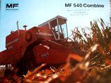 Massey Ferguson 540 combine
