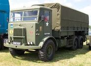 A 1950s LEYLAND Hippo Armytruck 6X4