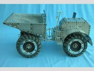 A Liner Roughrider all made from Meccano