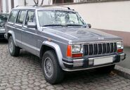 Jeep Cherokee front 20080121