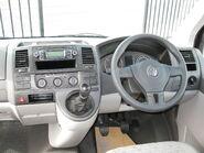 Volkswagen Transporter 2010MY (interior view)