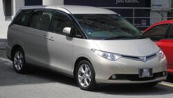 Toyota Estima (third generation) (front), Serdang.jpg