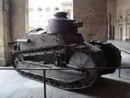Char Renault FT17 at the Invalides