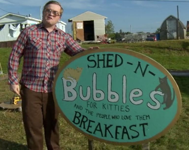 Bubbles Shed-N-Breakfast