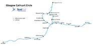 Cathcart map