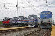 Amtrak Heritage Units 2