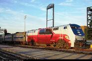 Exclusive Amtrak P42DC