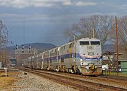 Amtrak hospital train
