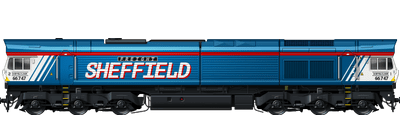 Class 66 Sheffield