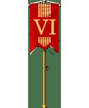 Christmas Flag VI