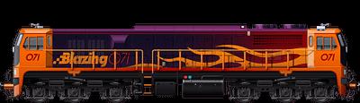 Blazing 071 Class 1