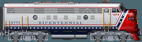 Bicentennial EMD F9