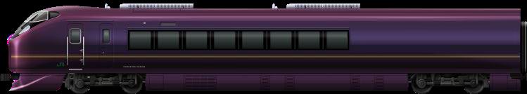 JR E655 Tail