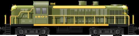 ALCO RS3