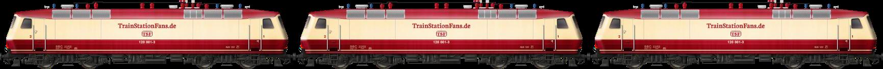 DB Class 120 Triple