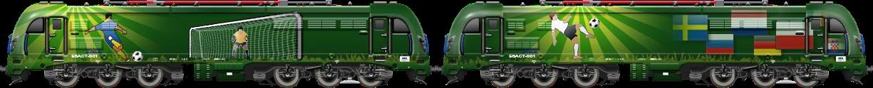 PKP E6ACT Double (Green)