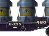 Skeletal U-235