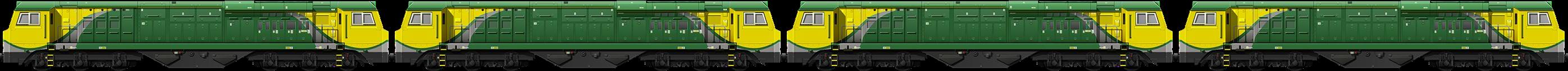 BR Class 70 Quad