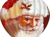 Kerstman's Ballon