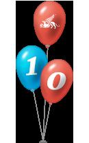 Anniversary Baloons