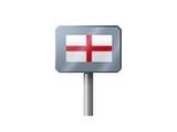 Sign - England (Metal)