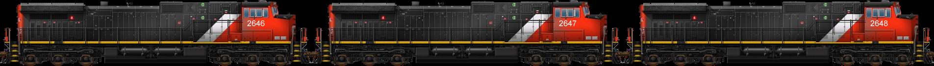 Dash 9-44CW Triple