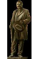 Detective Statue